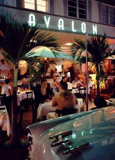 Avalon Hotel & A Fish Called Avalon Restaurant, SoBe (South Beach), Miami, Florida