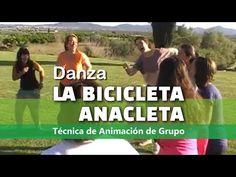 Danza LA BICICLETA ANACLETA   Canción de Campamento   Dinámica de Grupo   Animación - YouTube Cub Scout Uniform, Spanish 1, Brain Breaks, Teacher Resources, Youtube, Videos, Life, Delaware, Camping
