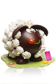 Pâques 2014: l'agneau rigolo Arnaud Delmontel - EN IMAGES. Notre sélection de chocolats de Pâques - L'EXPRESS