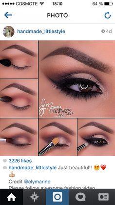 ❤️ Makeup Goals, Makeup Tips, Beauty Makeup, Makeup Tutorials, Makeup Ideas, Beauty Tips, Makeup Trends, Beauty Products, Beautiful Eye Makeup