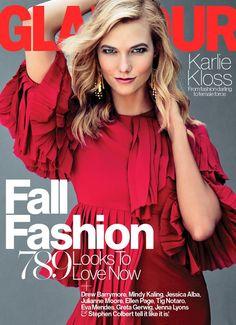 Glamour US September 2015, Karlie Kloss -1