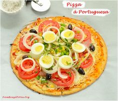 Pizza a Portuguesa delivered From Brazil To You... - From Brazil To You