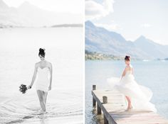 Queenstown Weddings - Planning by Boutique Weddings NZ - Photography by Alpine Image Company www.alpineimages.co.nz Wedding Photoshoot, Wedding Shoot, Wedding Dresses, Getting Married In Australia, Lakeside Wedding, Post Wedding, Bridal Makeup, One Shoulder Wedding Dress, Wedding Planner