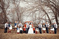 Our country wedding