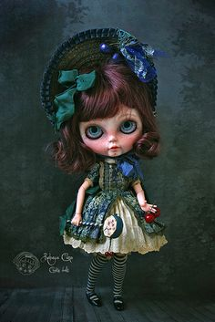 Cerise Blue Cherry My new custom. Adopted