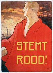 Poster PvdA (Partij van de Arbeid (PvdA)) Tags: poster verkiezingen pvda verkiezingsposter verkiezingsaffiche partijvandearbeid