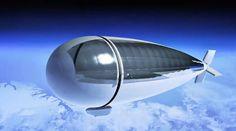 Dirigible estratosférico con capacidades de un satélite