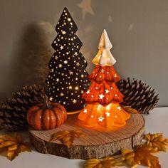Fall Diy, Autumn Diys, Candy Corn, Halloween Diy, Snow Globes, Table Decorations, Crisp, Home Decor, Decoration Home