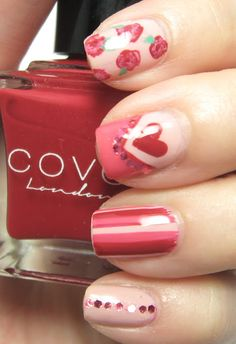 Legally Nailed: Covet London Valentines' Day Nail Art