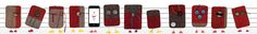 DIE SMARTPHONE-TASCHEN:  Die Taschen und Hüllen für Smartphones und Tablets sind ein fester Bestandteil der Modekollektion. Dahinter steckt der Wunsch keinen Zentimeter des einzigartigen und limitierten Materials der Schweizer Armeedecken zu verschenken. Und so entstehen neben der Mantelproduktion einzigartige Taschen, bei der keiner einer anderen gleicht. Zum Schließen dienen Leder- und Stoffbänder, die einfach um die Knöpfe gewickelt werden.  Foto: Alan Ovaska. Swiss Army Blanket