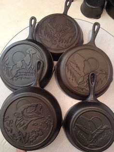 Lodge Wildlife Series. Five different skillets that makeup the set. These are…