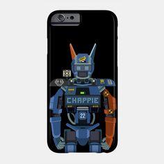 Chappie flat fanart phone case