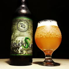 pseudoSue by Toppling Goliath | Such a great beer! The mango pours through, but in a perfect way! Worth the wait.