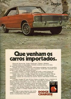 Best classic cars and more! Vw Passat, Dodge Challenger, Plymouth, Dodge Charger Rt, 70s Cars, Dodge Chrysler, Carros Chrysler, Dodge Power Wagon, Dodge Dart