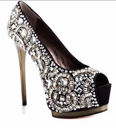 Bejeweled Shoes!