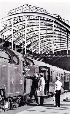 1965 Bath Green Park railway station, via Flickr.