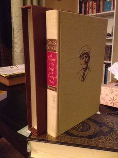 James Joyce A PORTRAIT OF THE ARTIST AS A YOUNG MAN Heritage Press 1968 Vintage
