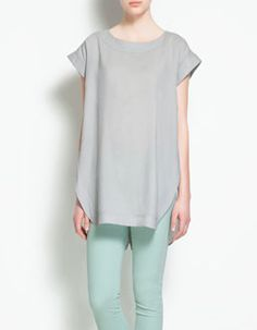 I can never own enough plain loose fit tees- Zara do the best shapes and cuts in a palate of natural hues