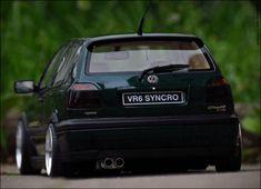 volkswagen golf mk3 vr6 rear