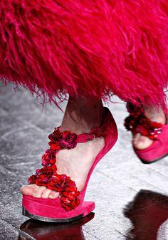 Sapatos de passarela - Catwalk's shoes