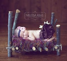 Newborn Photography Prop Bed Baby Photo Prop Newborn Photo Prop Bed. $75.00, via Etsy.