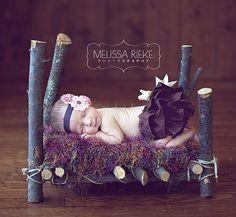 Recién nacido Photo Atrezzo de la cama de bebé recién nacidos apoyo de la foto…