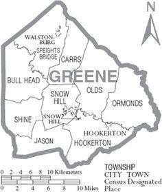 hookerton nc map