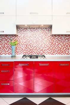 19 Ideas Red Kitchen Door Upper Cabinets For 2019 Kitchen Colour Schemes, Kitchen Paint Colors, Painting Kitchen Cabinets, Teal Cabinets, Upper Cabinets, Base Cabinets, Teal Kitchen, Kitchen Doors, Ikea Hemnes Bookcase