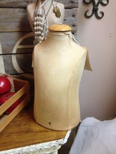 Small Child Torso Mannequin Dress Form Table by VintageHomeLiving