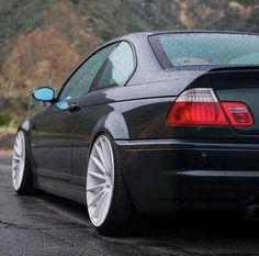 BMW E46 M3 black rain