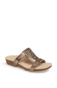 Aetrex Nikki Leather Sandal