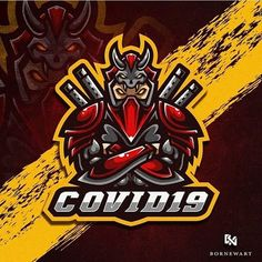 Gaming Logo, Ninja Logo, Oni Mask, Team Logo Design, Esports Logo, Mobile Legend Wallpaper, Mobile Legends, Adobe Illustrator, Knight