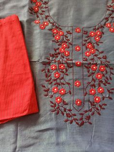 Hand Embroidery Dress, Embroidery Neck Designs, Pakistani Fashion Casual, Kurti Neck, Kurta Designs Women, Diy Arts And Crafts, Bed Design, Bed Sheets, New Dress