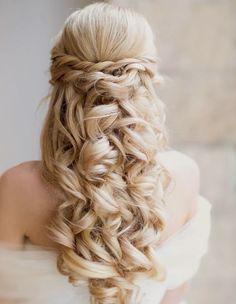 15 románticos peinados de boda : Fiancee Bodas