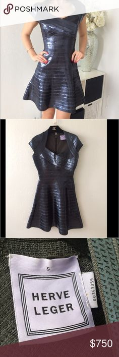 Herve Leger Rasha sequin dress Authentic HL Rasha sequin dress. Retail $2250. New with the tag on the back still intact. Size S. NO🚫trades Herve Leger Dresses Midi