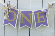 Hey, I found this really awesome Etsy listing at https://www.etsy.com/listing/286929853/purple-and-gold-birthday-high-chair