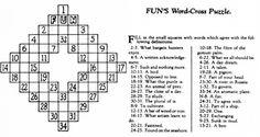 The Economist explains: Who invented crosswords? | The Economist