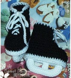 Crochet Baby Booties Patterns - super cute and they're all free! Description from pinterest.com. I searched for this on bing.com/images