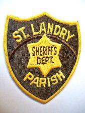 LOUISIANA PATCH, ST. LANDRY PARISH SHERIFF'S DEPARTMENT