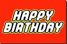 Free download Lego Happy Birthday Clipart for your creation.