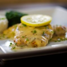 Chicken with Lemon Butter Sauce. It was good, but might just use water instead of stock, as it kinda drowned the lemon taste. Made a LOT. Not for one person, I'm going to freeze it.