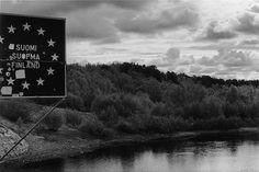Roger Palmer,  'Karigasniemi, Utsjoki, Finland' (2010), Silver gelatin print, 15.3 x 22.6cm, 36.8 x 43.5cm framed, Edition of 6 +2AP Gelatin, Finland, Beach, Frame, Water, Silver, Photography, Outdoor, Picture Frame