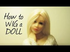 Hello everyone, watch me wigging out. The hair I'm using in this video is Tibetan Lamb Hair that my sister straightened, and the glue is Crafter's Pick:The U...