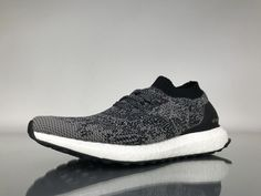 """3e534e426 Adidas Ultra Boost Uncaged """"Black White"""" Real Boost BB3900 Shoes for Sale2 Adidas  Ultra"""