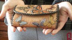 Butterfly leather MXS handbag | Flickr - Photo Sharing!