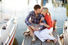 A Nautical Engagement Session | Bridal and Wedding Planning Resource for Minnesota Weddings | Minnesota Bride Magazine