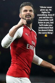 Giroud my love my hero Arsenal fc