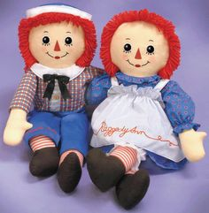 I asked Santa for Raggedy Ann but he left a note saying he couldn't remember which I asked for so he brought both...much to my delight!