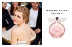 Rochas Mademoiselle EDP е със закачлив дух на млада парижка жена и е символ на френския шик. Сладки и плодови аромати на черно френско грозде и захаросана ябълка от върха на композицията водят до цветното сърце на розовите листенца и египетския жасмин. Базата разкрива тонове амбра, сандалово дърво и шантилски мускус. Mademoiselle е аромат на ярка млада жена, весела и жизнерадостна.  #Rochas #Mademoiselle EDP за жени е нов парфюм лансиран 2017 година.