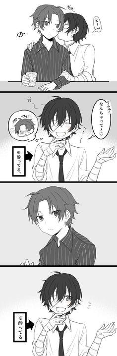 Try to embarrass Oda<<aww Dazai is so cute